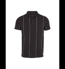 Clean Cut Tom Vertical Stripe Cotton Polo