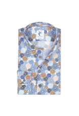 R2 Pinwheel Long-Sleeve Button-Up Shirt