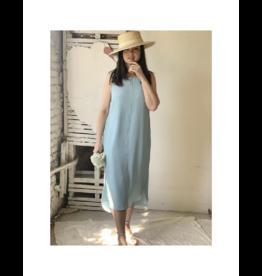 Iris Soft Crinkle Chiffon Sleeveless Dress