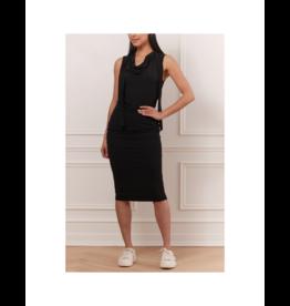 Iris High-Waist Side Detailed Pin Skirt