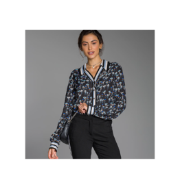 Intuicao Athletic Collared Blouse