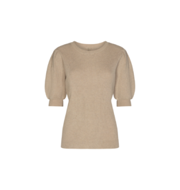 Soya Concept Puff Sleeve Knit Top
