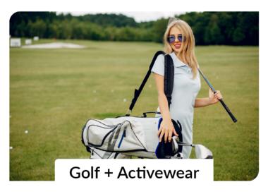 Golf Apparel + Activewear