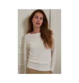 YaYa Boatneck L/S Rib Sweater (2 Colours Available)
