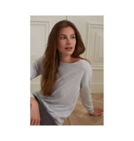 YaYa Cashmere Blend Boatneck Sweater (2 Colours Available)