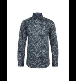 Matinique Trostol Blue/Yellow Circles Dress Shirt