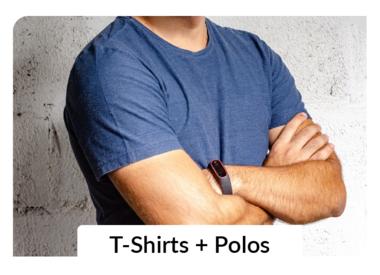 Basic T-Shirts + Polos
