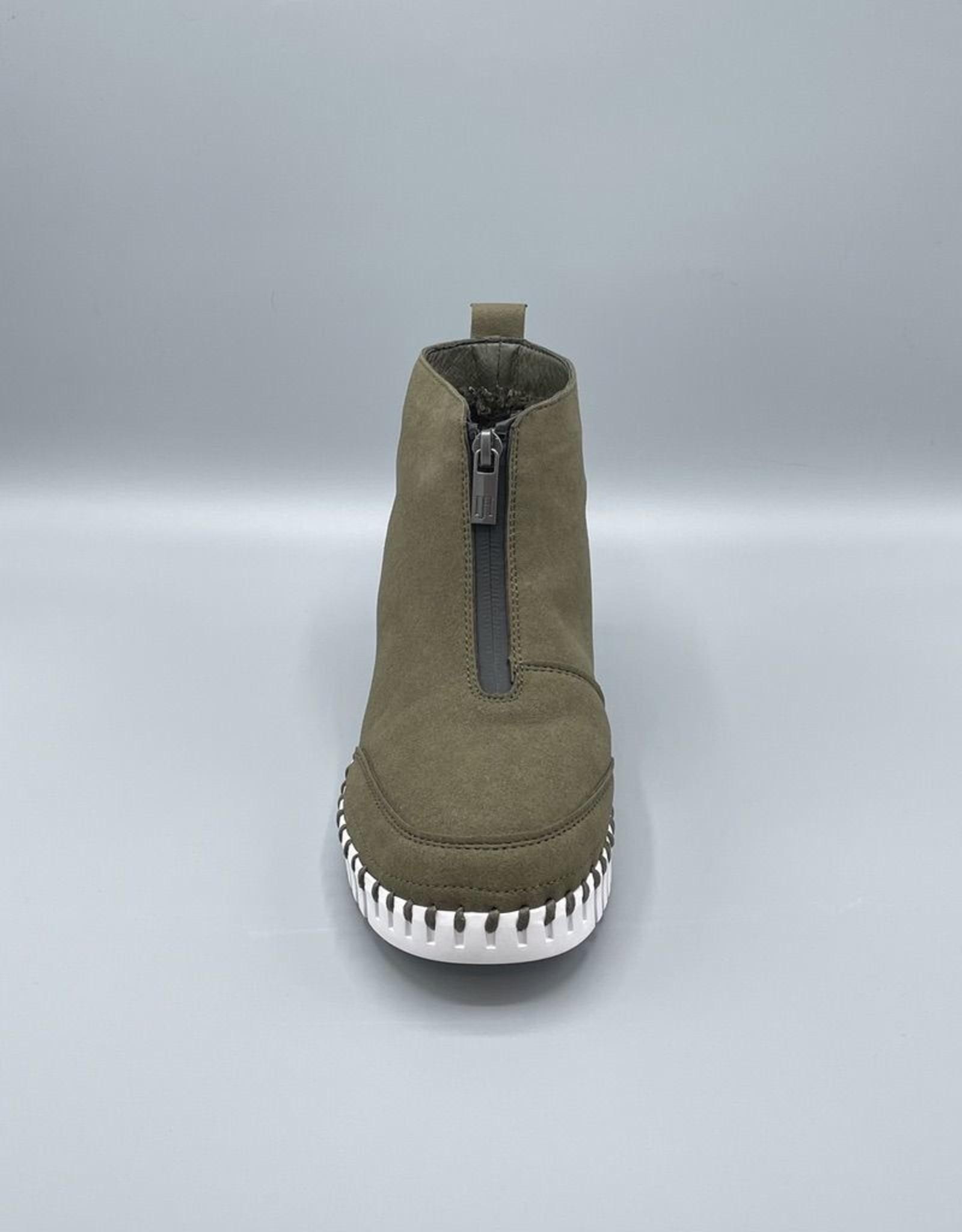 Ilse Jacobsen Ilse Jacobsen Front Zip Microfibre Tractor Bottom Boot