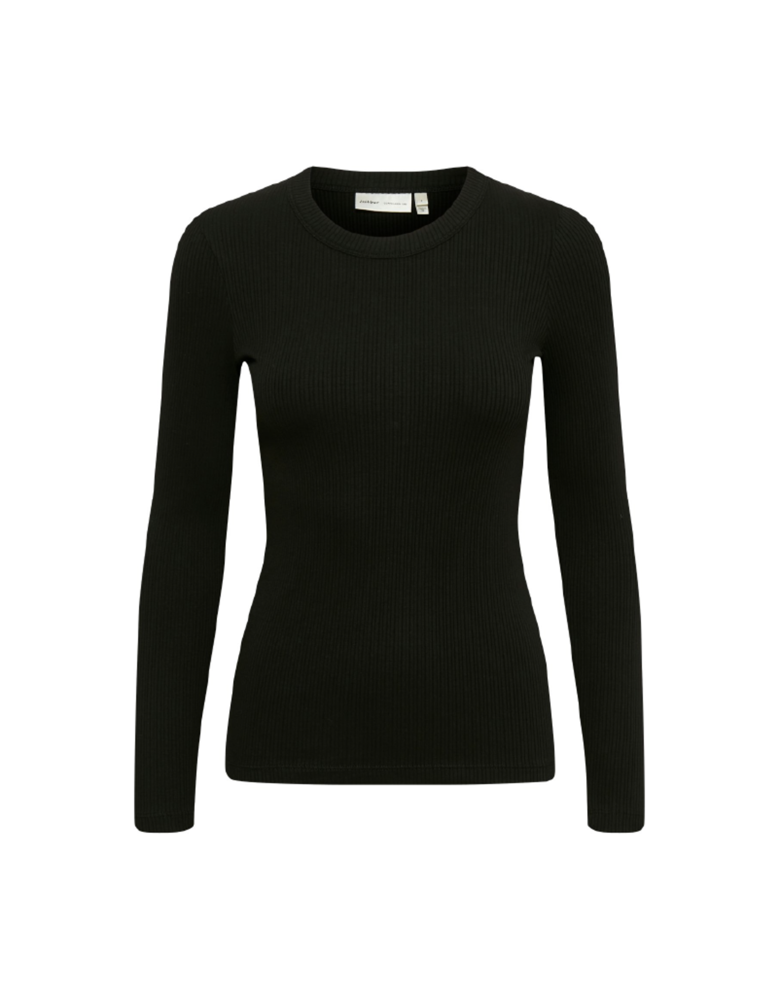 Inwear Dagna Crewneck Long-Sleeve Rib Top