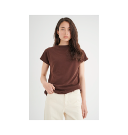 Inwear Veda Mockneck Blouse (3 Colours Available)