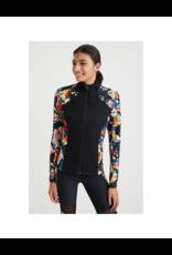 desigual Printed Zip Tight Jacket