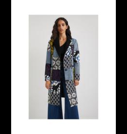 desigual Patchwork Printed Coat