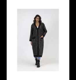 Dublin Long Tweed Cardi
