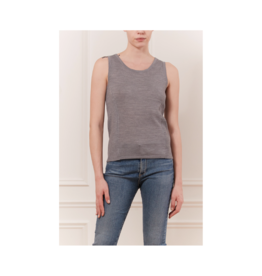 Iris Scoop Neck Ribbed Side Top (4 Colours Available)