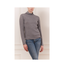 Iris Mock Neck Wide Rib Top (2 Colours Available)
