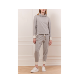 Iris Ribbed Cuff Cup Neck Sweater (2 Colours Available)