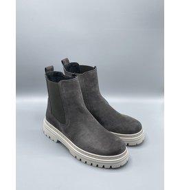 Gabor Mid Suede Side Zip Sneaker Boot