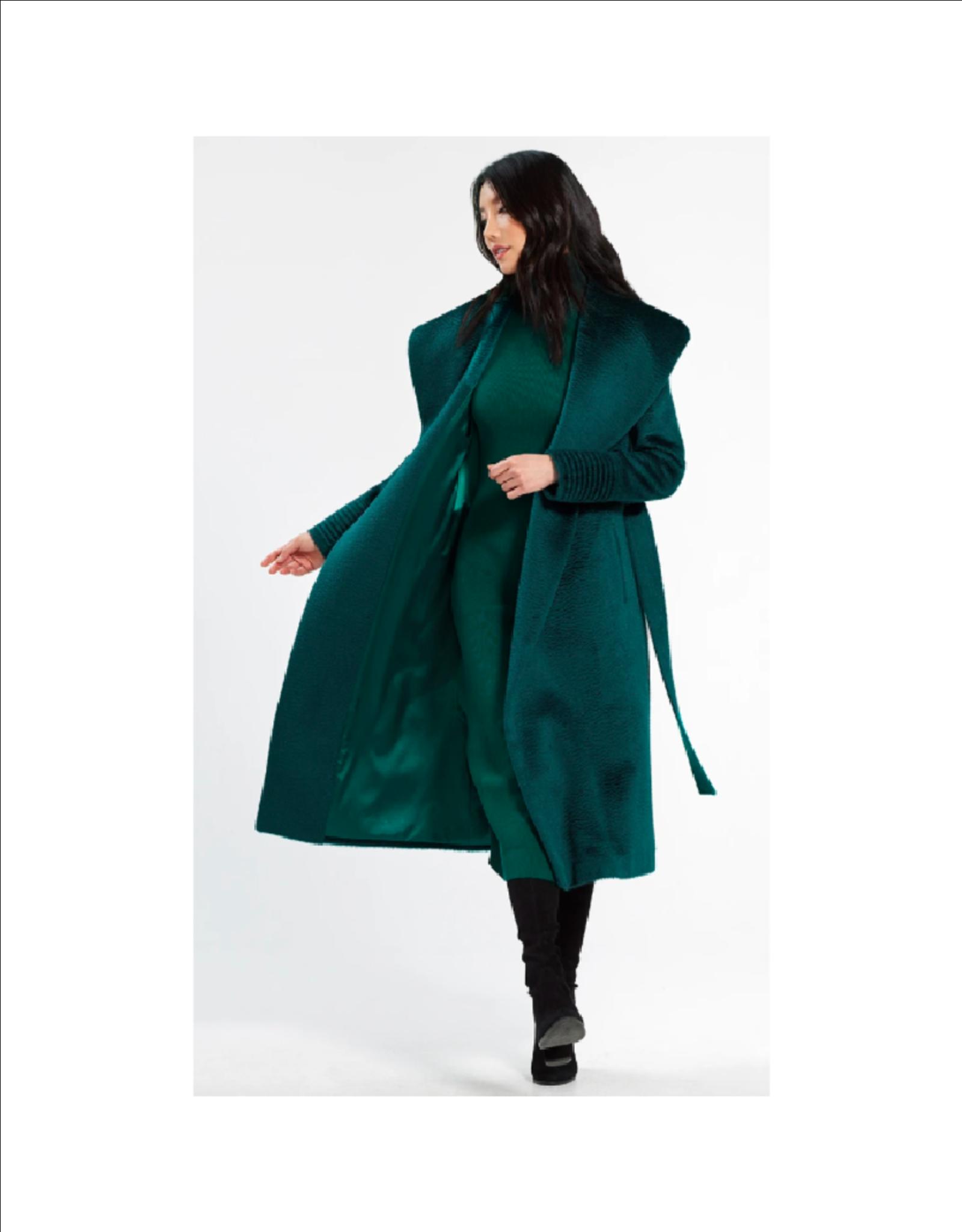 Sentaler Suri Long Shawl Collar Coat