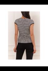 Iris Cap Sleeve Tee Shirt
