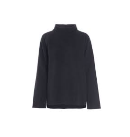 Henriette Steffensen Fleece Mock Neck Sweater (2 Colours Available)