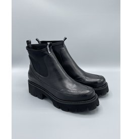 Ilse Jacobsen Leather Coated Pull On Boot