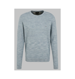 Fynch Hatton Moulinee Round Neck Sweater (4 Colours Available)