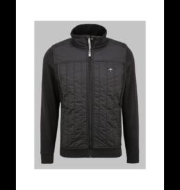 Fynch Hatton Vertical Nylon Mix Jacket