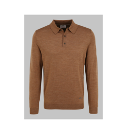 Fynch Hatton L/S Merino Polo (4 Colours Available)