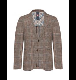 Club Of Gents Chris Plaid Soft Shoulder Slim Jacket
