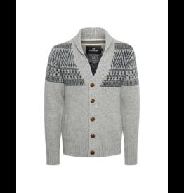 Matinique Shawl Collar Aztec Sweater