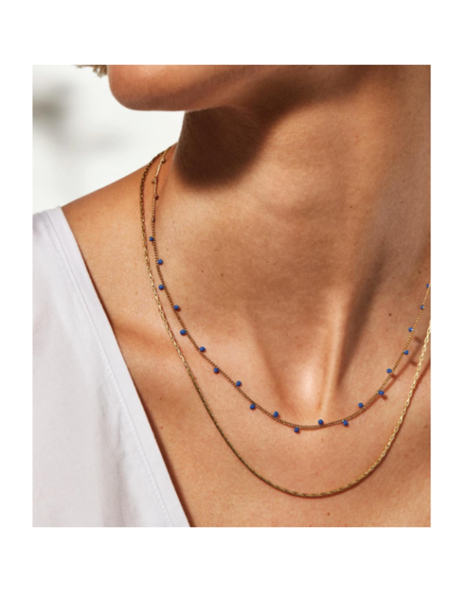 Jenny Bird Modri Double Strand Necklace