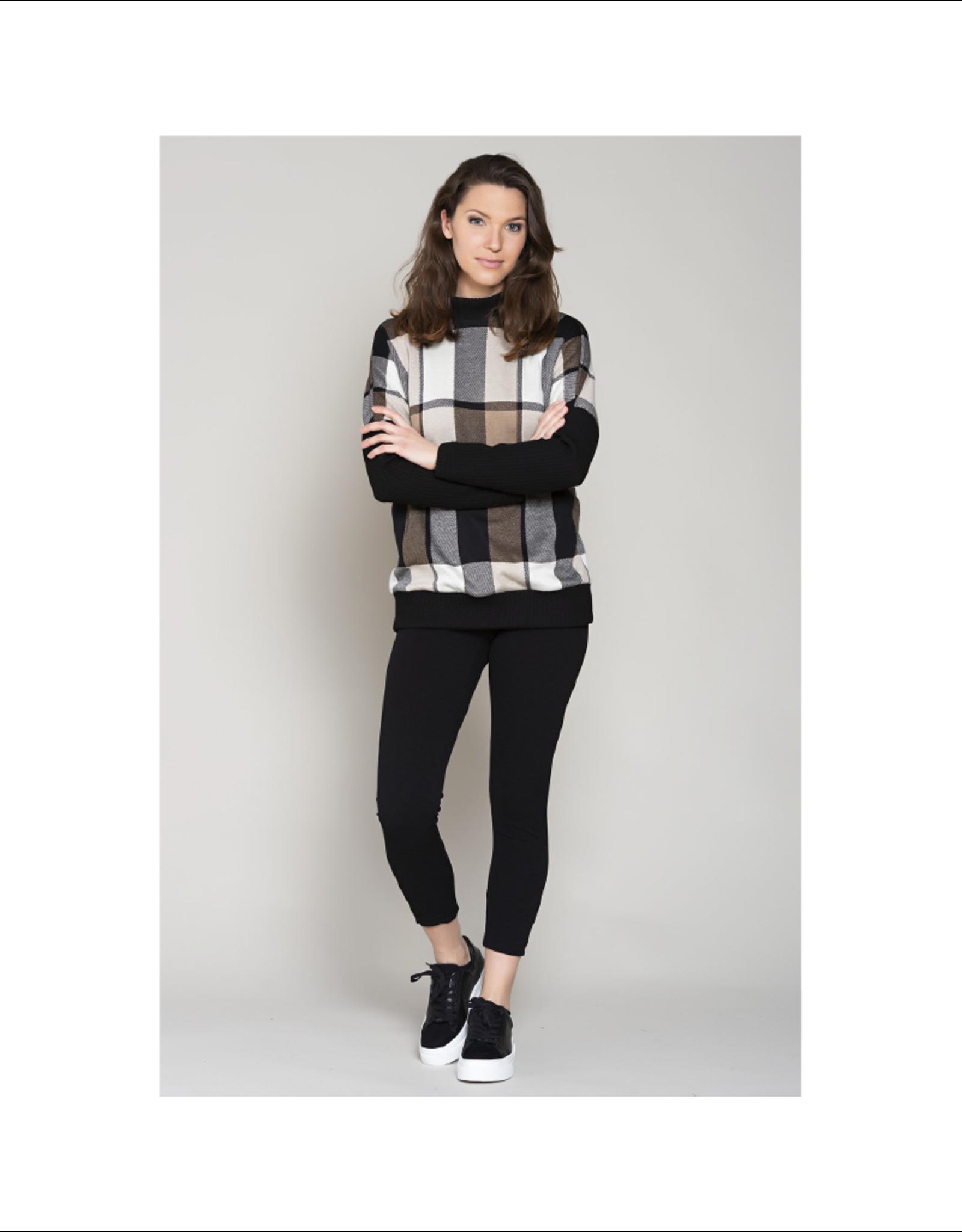 Ruelle Tokyo Tartan Sweater