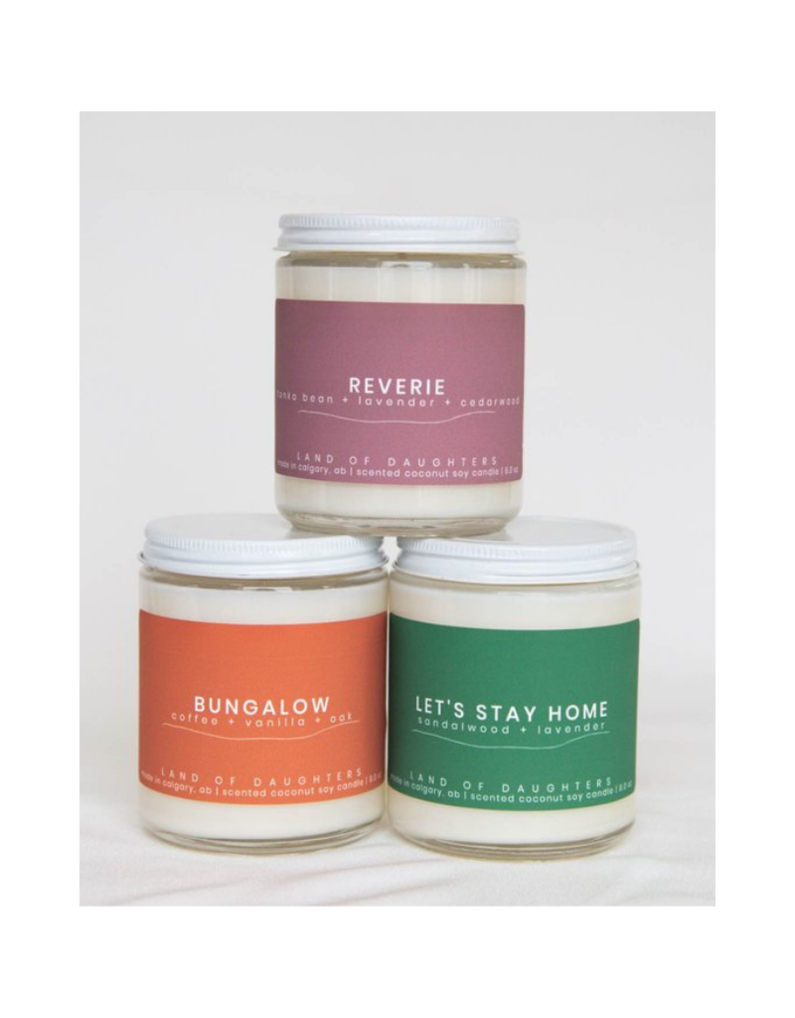 Land Of Daughters Soy Candle