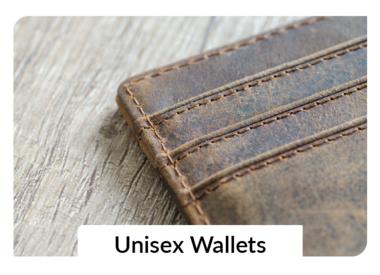 Unisex Wallets + Cardholders