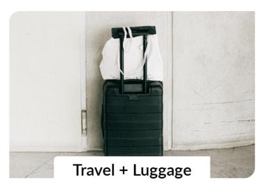 Backpacks + Luggage