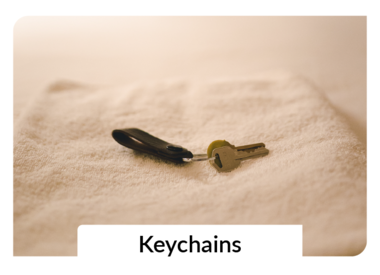 Key Chains + Accessories
