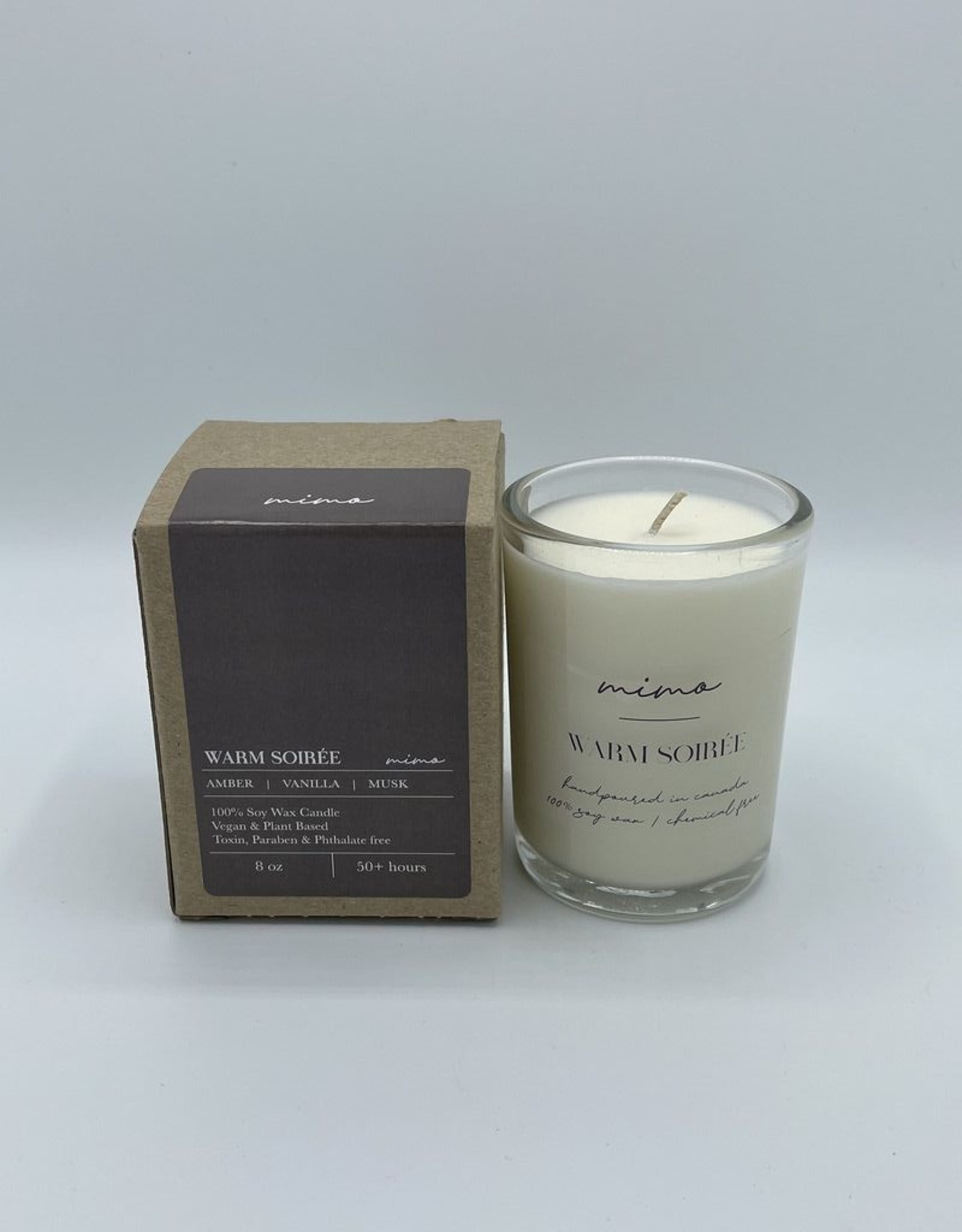 Autumn Leaves Small Candle