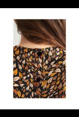 La Petite Francaise Belle Puff Shoulder Blouse