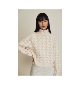 Line Agnes Houndstooth Sweater