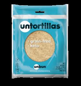 Unbun Unbun - Keto Tortilla (6p)