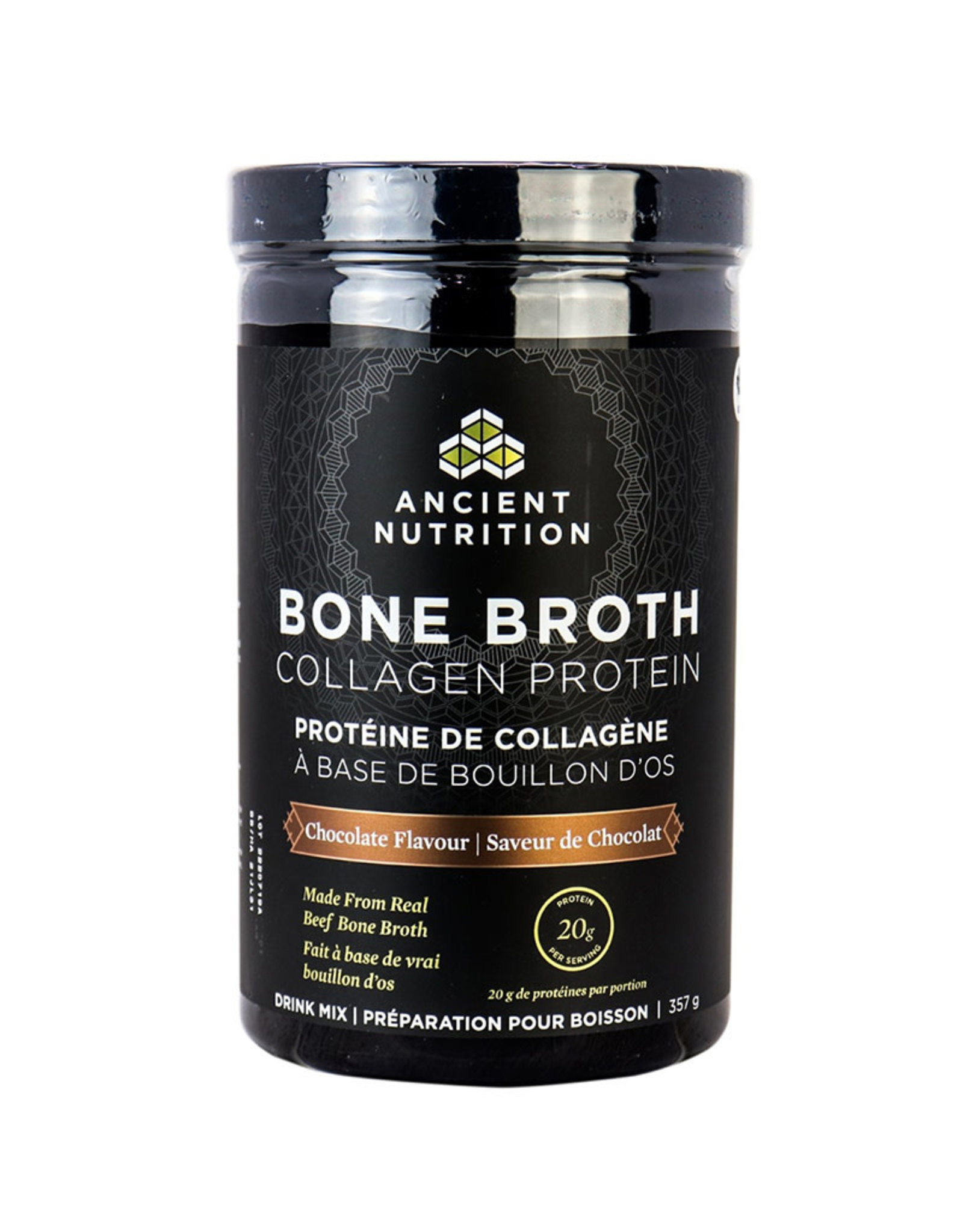 Ancient Nutrition Ancient Nutrition - Bone Broth Collagen Protein, Chocolate (357g)