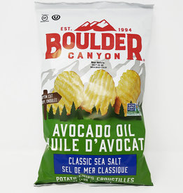 Boulder Canyon Boulder Canyon - Chips, Avocado Oil with Sea Salt (128g)