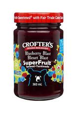 Crofter's Organic Crofters Organic - Premium Fruit Spread, Blueberry Blast (383ml)