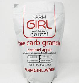Farm Girl Farm Girl - Cereal, Apple Caramel Granola  (420g)