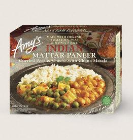 Amy's Kitchen Amys Kitchen - Frozen Meals, Indian Mattar Paneer (284g)