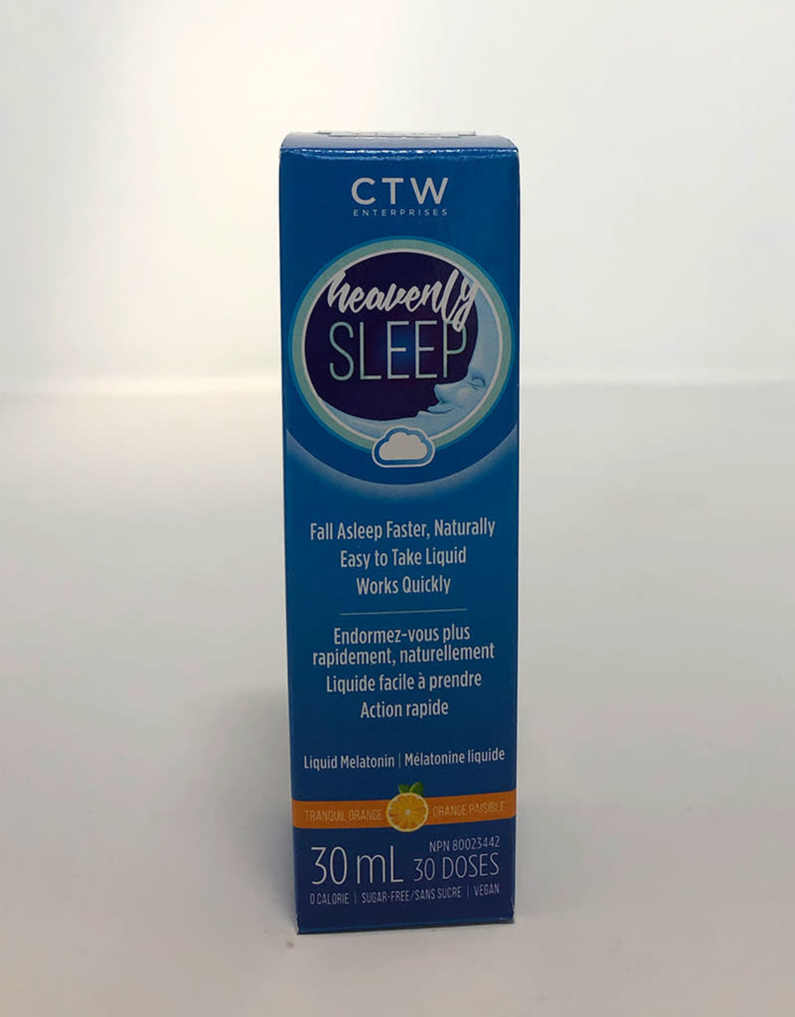 Naturally Calm Natural Calm - Heavenly Sleep Liquid Melatonin (30ml)