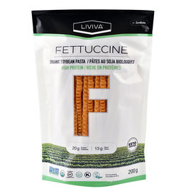 Liviva by Zeroodle Liviva -  Shirataki, Fettuccine Organic Soy Bean