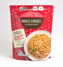 Miracle Noodle Kitchen Miracle Noodle - Ready-to-Eat, Spaghetti with Marinara Sauce