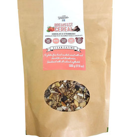KZ Clean KZ Clean Eating - Breakfast Cereal, Chocolate & Strawberry (500g)