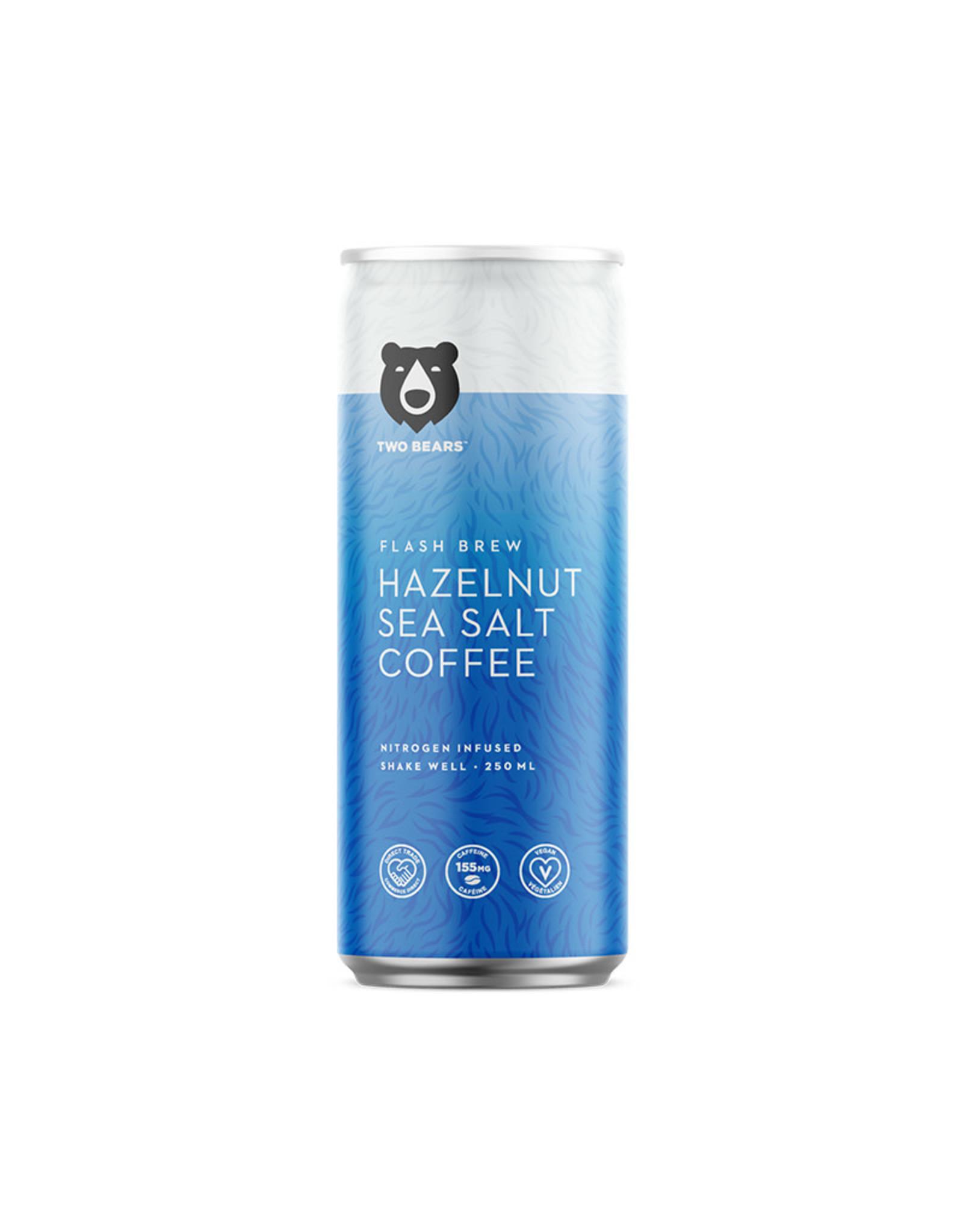 Two Bears Two Bears - Cold Brew Coffee, Hazelnut & Sea Salt (250ml)